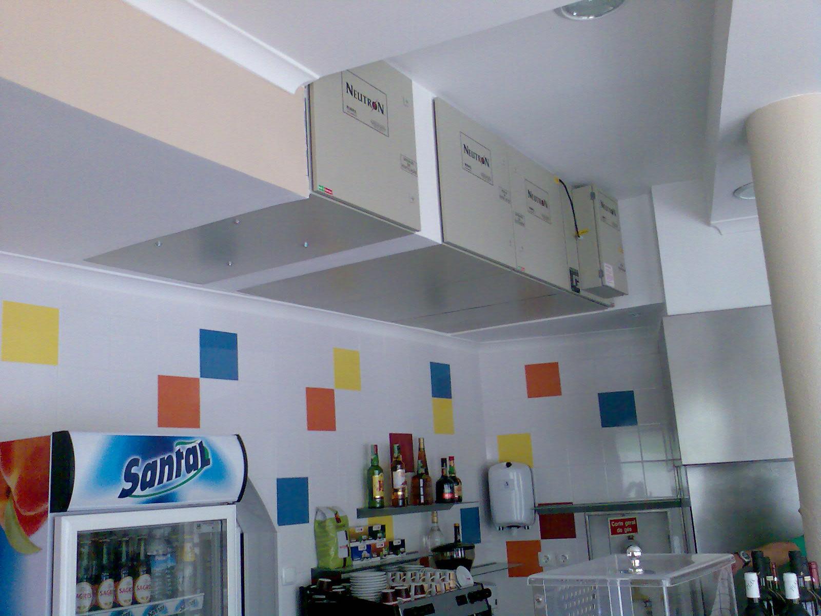 Sistema De Ventila O Em Cozinhas Profissionais Neutron